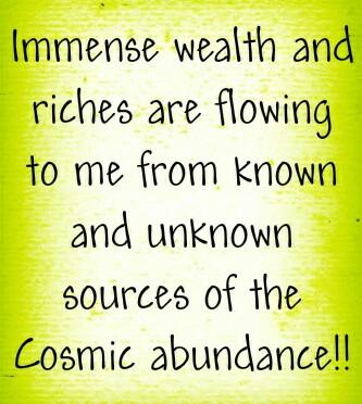 Prosperity of your soul
